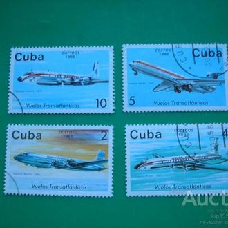 Куба 1988 Самолеты * полн. сер