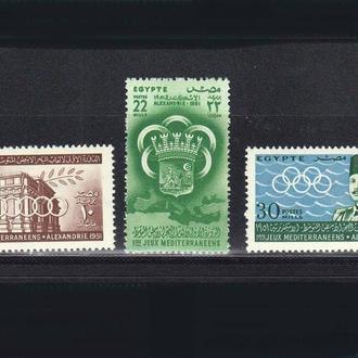Египет  1951 г MNH -