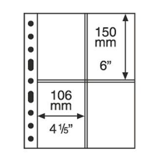 Лист-обложка SH312 (2СТ) прозрачный (аналог GRANDE), Leuchtturm