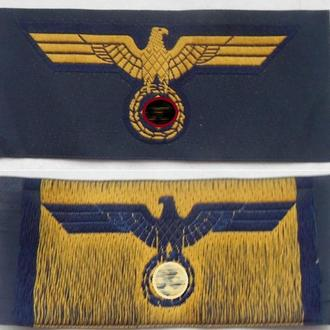 нашивка военно-морских сил Кригсмарине. копия