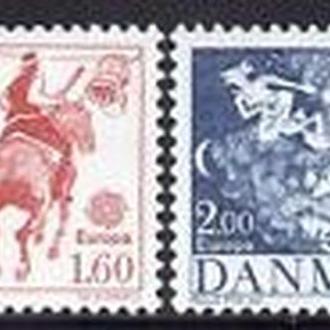 Дания 1981 EUROPA CEPT Фольклор