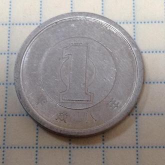 ЯПОНИЯ, 1 иена 1996