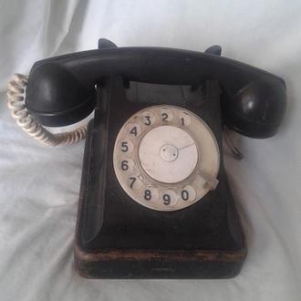 Старый телефон СССР