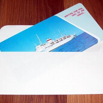 Реклама. Дальневосточное морское пароходство.