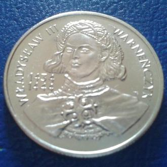 10000 ЗЛОТЫХ,1992г.,ПОЛЬША, ВЛАДИСЛАВ 3