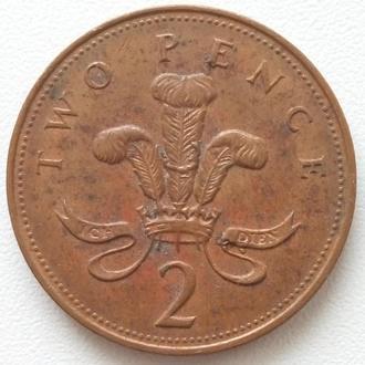 Великобритания 2 пенса, 1993