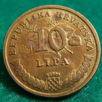 Хорватия 10 лип / 10 липа 2007