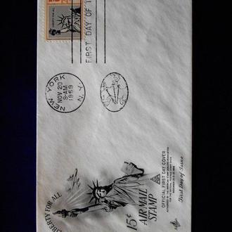 США  КПД  1959г. NEW YORK