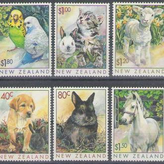 Н. Зеландия 1999 домашние животные