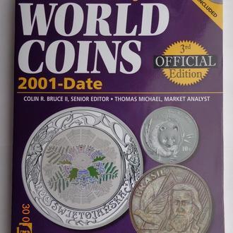 Стандартный каталог монет мира Краузе 21-го века 2001-2008 (идеальное состояние, без CD)