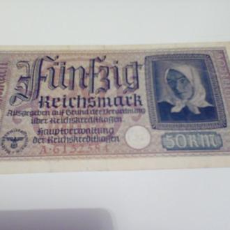 50рейхс марок Німеччина-1942