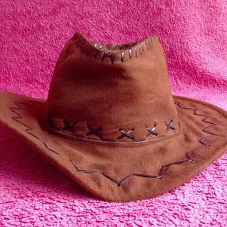 Шляпа ковбоя. Оригинал из Америки.