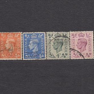 Великобритания, 1937 г., стандартный выпуск