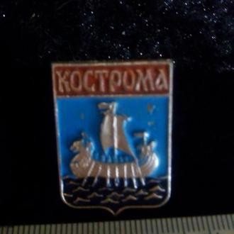 Значок. Кострома Герб.
