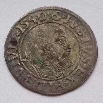 Пруссия 1540 г Прусский грош ( ленник )