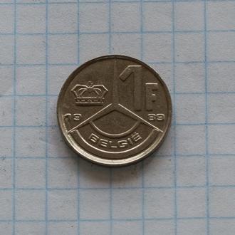 Бельгия 1 франк