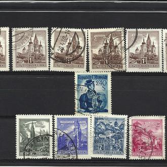 Марки Австрии 1960-х годов