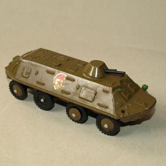 Модель военной техники - БТР, СССР, металл