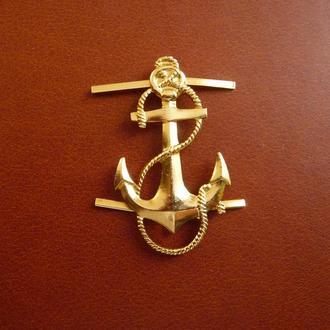 Знак флот Якорь эмблема кокарда ВМФ СССР