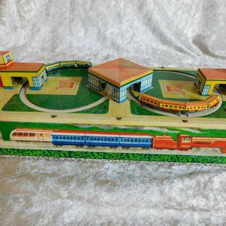 детская железная дорога времён СССР