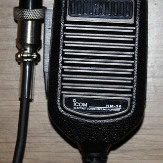 Микрофоны с тангентой Icom HM-36