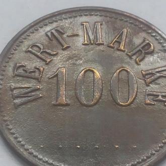 100 марок гроші жетон приблизно 1920-26р
