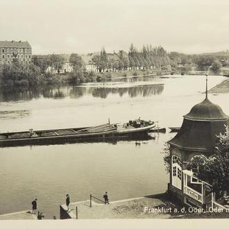 Открытка. Франкфурт-на Одере. 1930-е. (6)