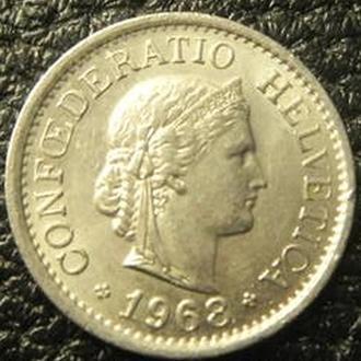 10 рапенів 1968 B Швейцарія