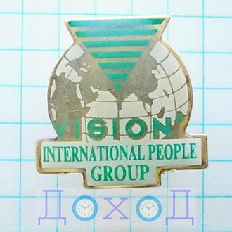 Значок Компания Vision International People Group Визион Дистрибьютор