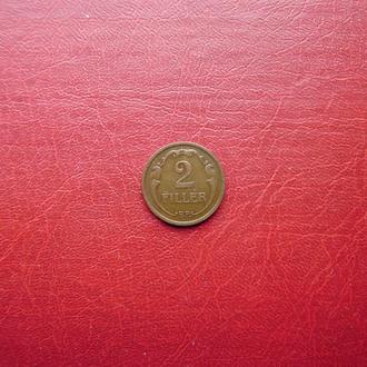 Венгрия 2 филлера 1926