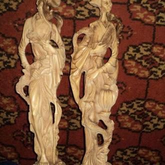 Статуэтки 45 см из Англии старина эксклюзив антиквариат статуетка
