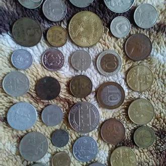 32 стари6ные монеты