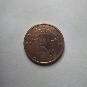 2 цента Эстония 2012