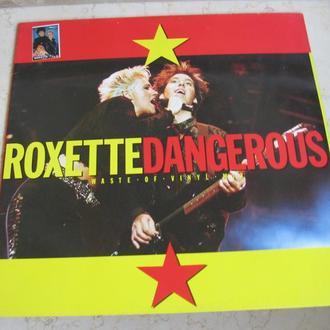 Roxette – Dangerous  ( EEC )   Marie Fredriksson, Per Gessle