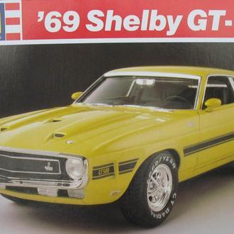 Сборная модель автомобиля Ford Mustang '69  Shelby GT-500 1:25 Revell