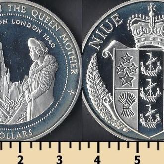 Ниуэ остров 5 долларов 1997
