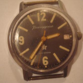 Часы командирские  Чистополь (заказ МО)