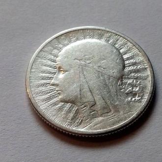 Польша 2 злотых Ядвига 1934 год. В коллекцию.. (с2-28) Еще 100 лотов!