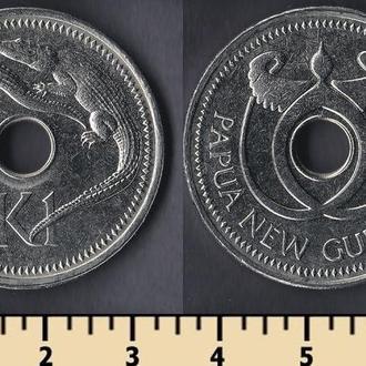 Папуа-Новая Гвинея 1 кина 1996