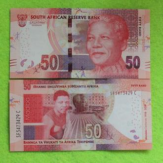 ЮАР Южная Африка 50 рандов 2018  UNC