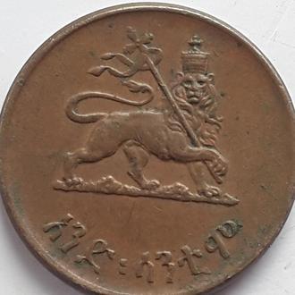 Эфиопия 1 цент 1943 год СОСТОЯНИЕ!!!
