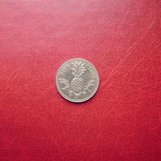 Багамские (Багамы) острова 5 центов 1975