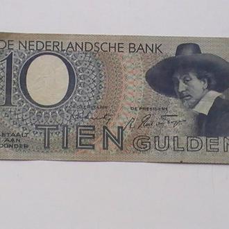 10 Гульденів 1944 р Нідерланди 10 Гульденов 1944 г Нидерланды