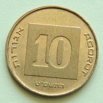 (А) Израиль 10 агорот 2009