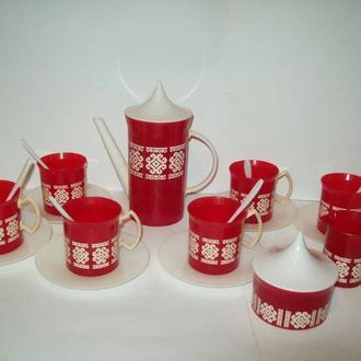 Кукольная посуда кофейный набор СССР