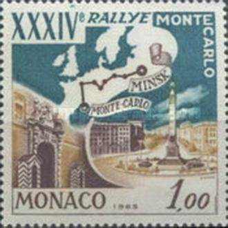 Монако 1964 34-е ралли Монте Карло