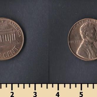 США 1 ЦЕНТ 1960