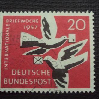 ФРГ 1957 гаш.