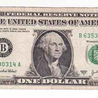 1 доллар США 2003 A, Нью-Йорк B