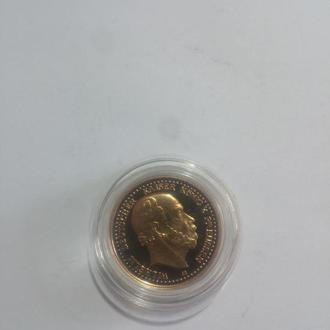 Deuthces reich 10 mark 1878 - Официальная копия